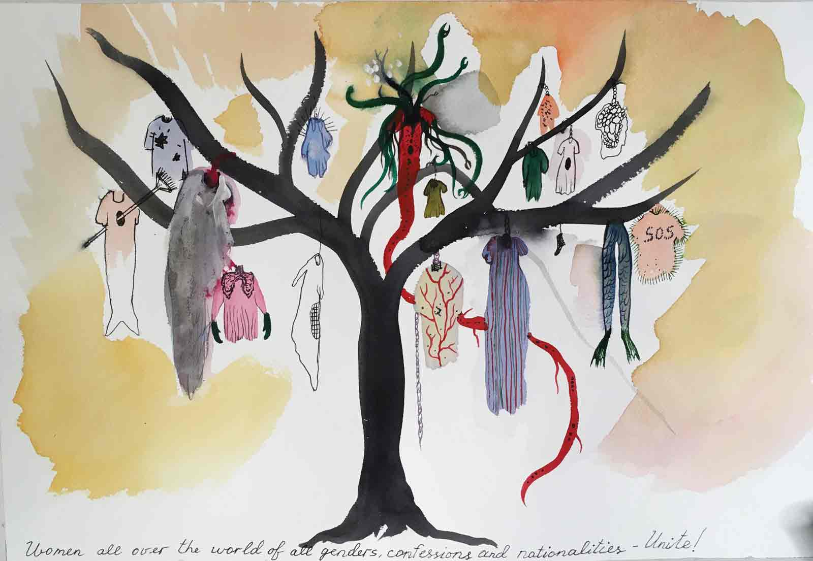 women-united-tree